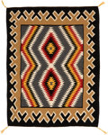 American Indian Art:Weavings, A CONTEMPORARY NAVAJO REGIONAL RUG. Teec Nos Pos. c. 1980...