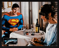 "Superman the Movie (Warner Brothers, 1978). German Lobby Cards (5) (9.5"" X 11.75""). Action. ... (Total: 5 Item..."