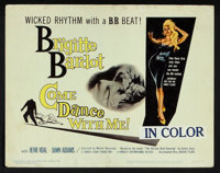 "Come Dance With Me! (Kingsley International, 1960). Title Lobby Card and Lobby Card (11"" X 14""). Mystery..."