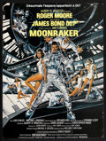 "Movie Posters:James Bond, Moonraker (United Artists, 1979). Belgian (15.5"" X 20.5""). James Bond.. ..."
