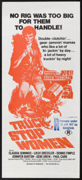 "Movie Posters:Bad Girl, Truck Stop Women (Roadshow, 1974). Australian Daybill (13"" X 30""). Bad Girl.. ..."