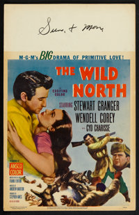 "The Wild North Lot (MGM, 1952). Window Cards (2) (14"" X 22""). Western. ... (Total: 2 Items)"