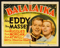 """Nelson Eddy/Jeanette MacDonald Lot (MGM, 1938-1962). Title Lobby Card (11"""" X 14"""") and Lobby Cards (8) (11""""..."""