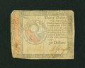 Colonial Notes:Continental Congress Issues, Continental Currency January 14, 1779 $30 Fine-Very Fine....