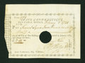 Colonial Notes:Connecticut, State of Connecticut Pay Table Office February 2, 1788 VeryFine-Extremely Fine....