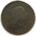 Large Cents, 1793 Chain 1C Periods VG8 PCGS....