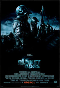 """Planet of the Apes Lot (20th Century Fox, 2001). One Sheets (2) (27"""" X 41"""") DS Advances. Science Fiction..."""