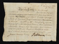 Colonial Notes:Continental Congress Issues, Robert Morris Signed Bond. North American Land Company. 1795.Extremely Fine....