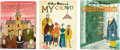 Memorabilia:Miscellaneous, Charles Adams Hardcover Book Group (Simon and Schuster, 1954-81).... (Total: 3 Items)