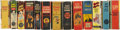 Golden Age (1938-1955):Miscellaneous, Big Little Book Group (Whitman, 1934-49) Condition: Average GD/VG.... (Total: 13 Items)