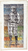 Baseball Collectibles:Others, Tris Speaker Painting....