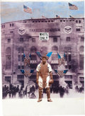 Baseball Collectibles:Others, Josh Gibson Collage...
