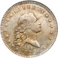 Early Half Dollars, 1795 50C 2 Leaves AU58 NGC....