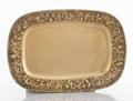 Silver Holloware, American:Trays, A AMERICAN SILVER GILT RECTANGULAR TRAY . S. Kirk & Son Inc.,Baltimore, Maryland, circa 1950. Marks: S. KIRK & SONINC.,...