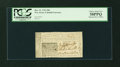 Colonial Notes:New Jersey, New Jersey December 31, 1763 18d PCGS Choice About New 58PPQ....