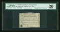 Colonial Notes:North Carolina, North Carolina April 2, 1776 $1/4 Sea Urchin PMG Very Fine 30....