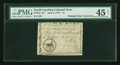 Colonial Notes:North Carolina, North Carolina April 2, 1776 $1 Duck PMG Choice Extremely Fine 45NET....