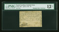 Colonial Notes:North Carolina, North Carolina April 2, 1776 $3 Alligator and Beaver PMG Fine 12NET....