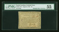 Colonial Notes:North Carolina, North Carolina August 8, 1778 $5 PMG About Uncirculated 55....