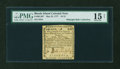 Colonial Notes:Rhode Island, Rhode Island May 22, 1777 $1/12 PMG Choice Fine 15 NET....