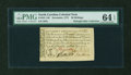 Colonial Notes:North Carolina, North Carolina December, 1771 30s PMG Choice Uncirculated 64EPQ....