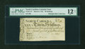 Colonial Notes:North Carolina, North Carolina March 9, 1754 30s PMG Fine 12 NET....