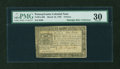 Colonial Notes:Pennsylvania, Pennsylvania March 16, 1785 9d PMG Very Fine 30....