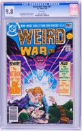 Bronze Age (1970-1979):Horror, Weird War Tales #67 (DC, 1978) CGC NM/MT 9.8 White pages....