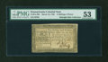 Colonial Notes:Pennsylvania, Pennsylvania March 16, 1785 2s6d PMG About Uncirculated 53....