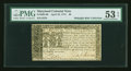 Colonial Notes:Maryland, Maryland April 10, 1774 $6 PMG About Uncirculated 53 EPQ....