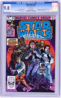 Modern Age (1980-Present):Science Fiction, Star Wars #70 (Marvel, 1983) CGC NM/MT 9.8 White pages....