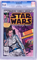 Modern Age (1980-Present):Science Fiction, Star Wars #65 (Marvel, 1982) CGC NM/MT 9.8 White pages....
