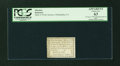Colonial Notes:Pennsylvania, Pennsylvania Bank of North America August 6, 1789 $1/90 PCGSApparent Choice New 63....