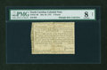 Colonial Notes:North Carolina, North Carolina May 28, 1757 £5 PMG Very Good 8 NET....