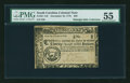 Colonial Notes:South Carolina, South Carolina December 23, 1776 $20 PMG About Uncirculated 55....