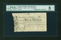 Colonial Notes:North Carolina, North Carolina April 4, 1748 30s PMG Very Good 8 NET....