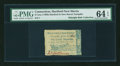 Colonial Notes:Connecticut, Hartford & New Haven Turnpike 1799 6¢ 3 mills PMG ChoiceUncirculated 64 EPQ....