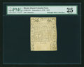 Colonial Notes:Rhode Island, Rhode Island September 5, 1776 $1/8 PMG Very Fine 25....