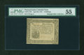 Colonial Notes:Pennsylvania, Pennsylvania April 20, 1781 5s PMG About Uncirculated 55....