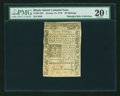 Colonial Notes:Rhode Island, Rhode Island January 15, 1776 20s PMG Very Fine 20 NET....