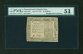 Colonial Notes:Pennsylvania, Pennsylvania April 20, 1781 20s PMG About Uncirculated 53....