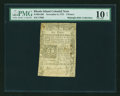 Colonial Notes:Rhode Island, Rhode Island November 6, 1775 6d PMG Very Good 10 NET....