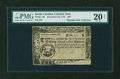 Colonial Notes:South Carolina, South Carolina December 23, 1776 $20 PMG Very Fine 20 NET....