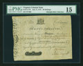 Colonial Notes:Virginia, Virginia July 17, 1775 20s PMG Choice Fine 15....