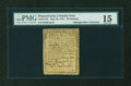 Colonial Notes:Pennsylvania, Pennsylvania May 20, 1758 20s PMG Choice Fine 15....