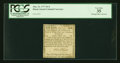 Colonial Notes:Rhode Island, Rhode Island May 22, 1777 $1/4 PCGS Very Fine 35....