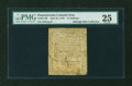 Colonial Notes:Pennsylvania, Pennsylvania April 25, 1759 15s PMG Very Fine 25....