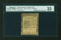 Colonial Notes:Pennsylvania, Pennsylvania April 25, 1759 20s PMG Very Fine 25....