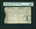 Colonial Notes:South Carolina, South Carolina June 1, 1775 £5 PMG Choice Fine 15 NET....