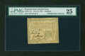 Colonial Notes:Pennsylvania, Pennsylvania June 18, 1764 2s PMG Very Fine 25....